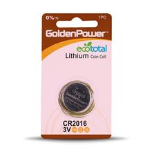 Golden Power CR2016 Coin Cell Battery  Pack of 1